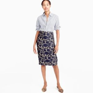 NWT Skirt in floral jacquard
